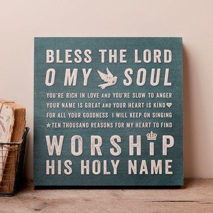 DINO - BLESS THE LORD OH MY SOUL LYRICS