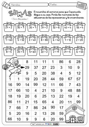 ejercicios de numeros para primer grado de primaria - Buscar con Google