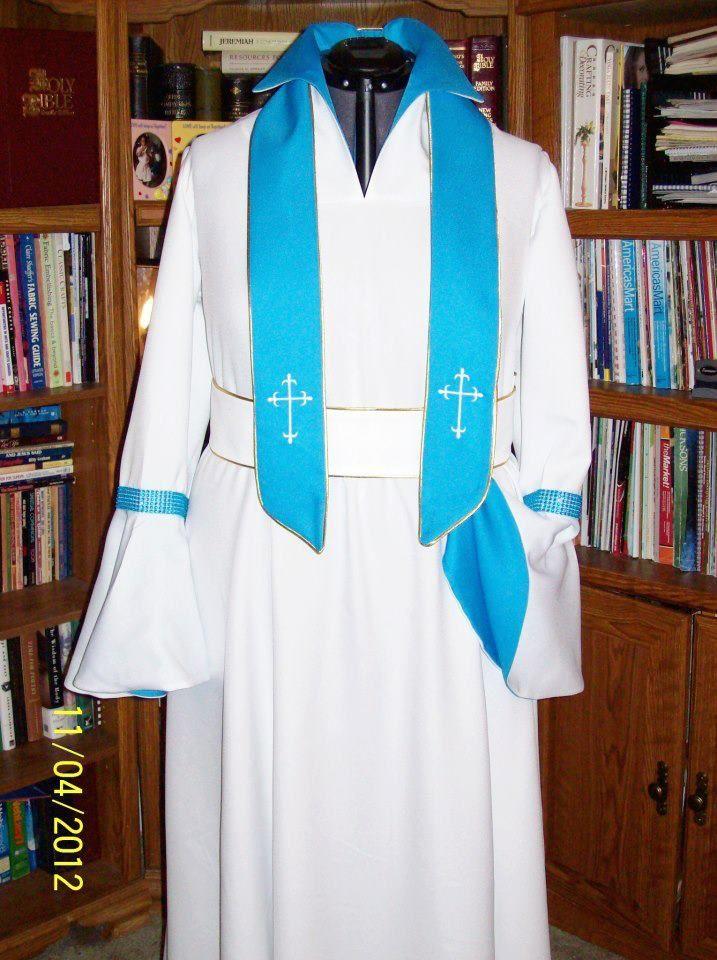 Custom Clergy Robes Very Nice Quality One Of A Kind Custom -8476