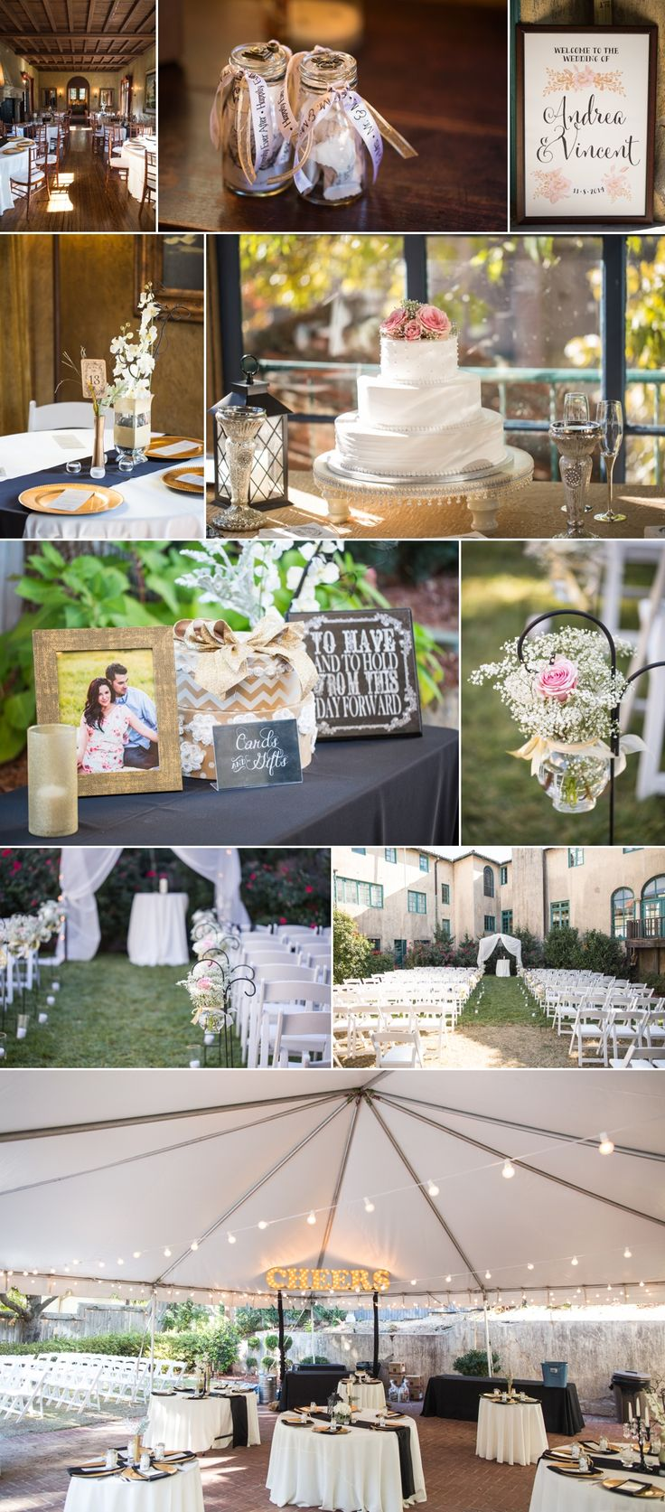Andi & Vincent's Dresser Mansion Wedding
