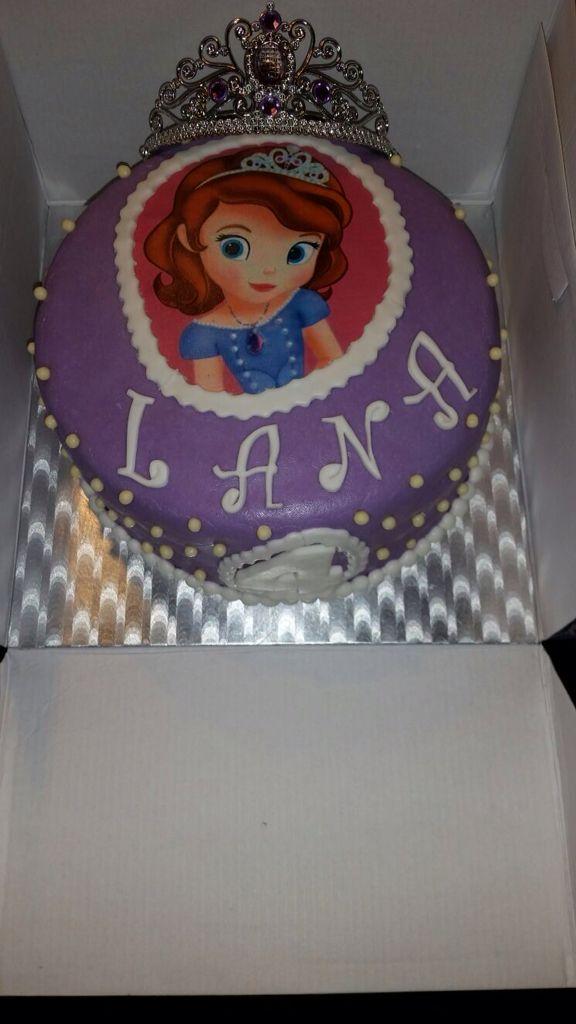 Prinses Sofia taart