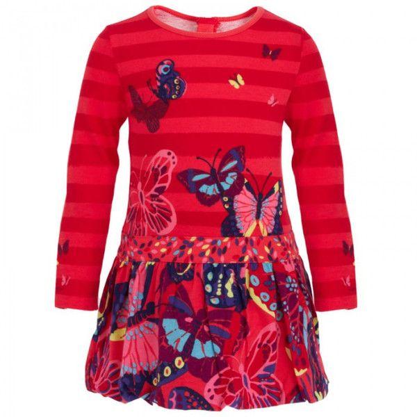 Catimini bird print dress