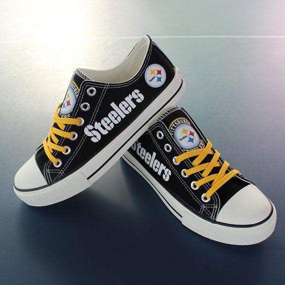 Pittsburgh Steelers shoes Steelers sneakers Steelers by Uteehavy