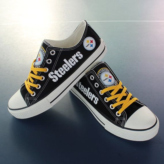 Pittsburgh Steelers shoes Steelers sneakers Steelers by Uteehavy