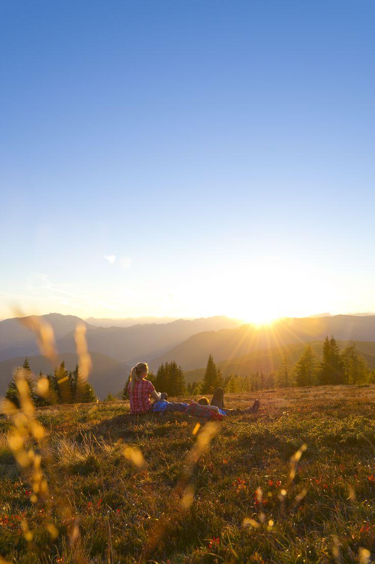 Zweisamkeit in den Bergen (c) Franz Gerdl #wandern #hike #Urlaub #sundowner #earlybird #Sonnenaufgang #Sonnenuntergang #sunrise #morninghike #Sport #alps