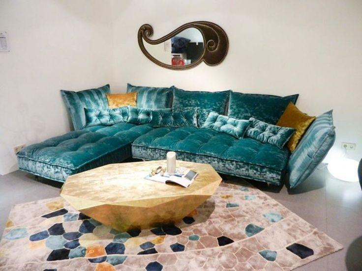 Bretz Sofa In Smaragdgrünen