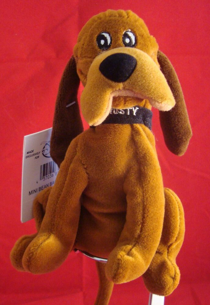 Disney Stores Trusty Bean Plush Bloodhound From Lady And The Tramp New Tag Rare Disney Lady And The Tramp Disney Store Disney Plush