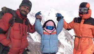 پہاڑیوں کی شہزادی سلینہ خواجہ نے ہنزہ میں 5 ہزار میٹر بلند چوٹی سر کرلی