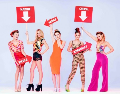 Girls Aloud. I have this on a T-Shirt.