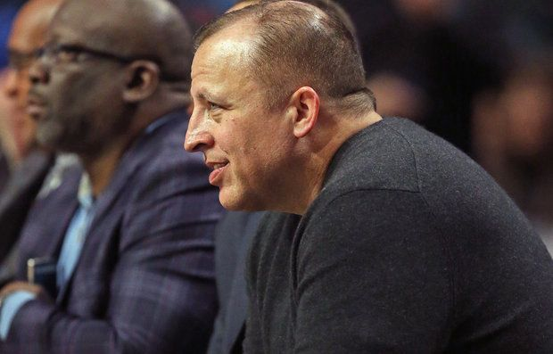NBA rumors: Tom Thibodeau to Knicks? Ex-Bulls coach 'would...: NBA rumors: Tom Thibodeau to Knicks? Ex-Bulls… #KristapsPorzingis #Knicks