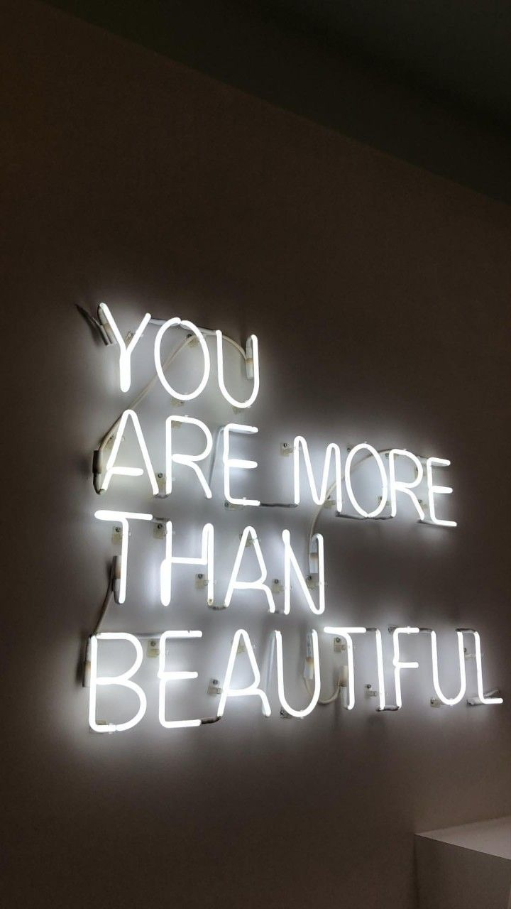 Follow Me Hottepotato For More Neon Quotes Neon Signs Black And White Photo Wall