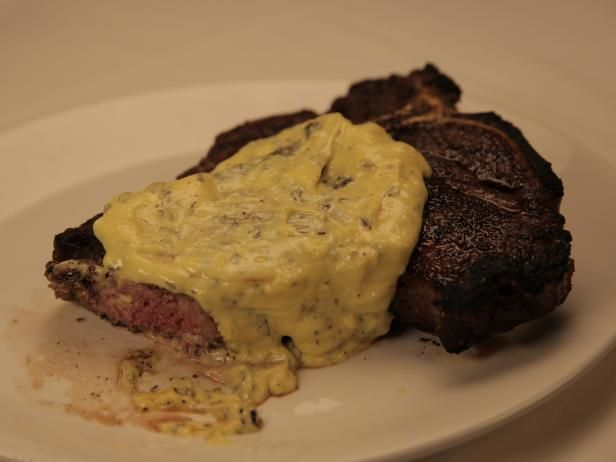 Get T-Bone with Bearnaise Recipe from Cooking Channel