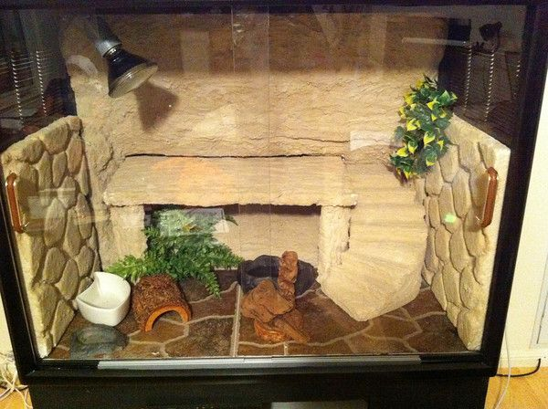 bearded dragon tanks | Bearded Dragon . org • View topic - My DIY Tank...smell
