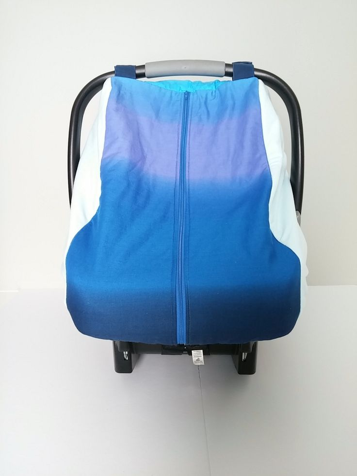 winter car seat canopy fitted cotton car seat cover blue ombre car seat canopy warm car. Black Bedroom Furniture Sets. Home Design Ideas