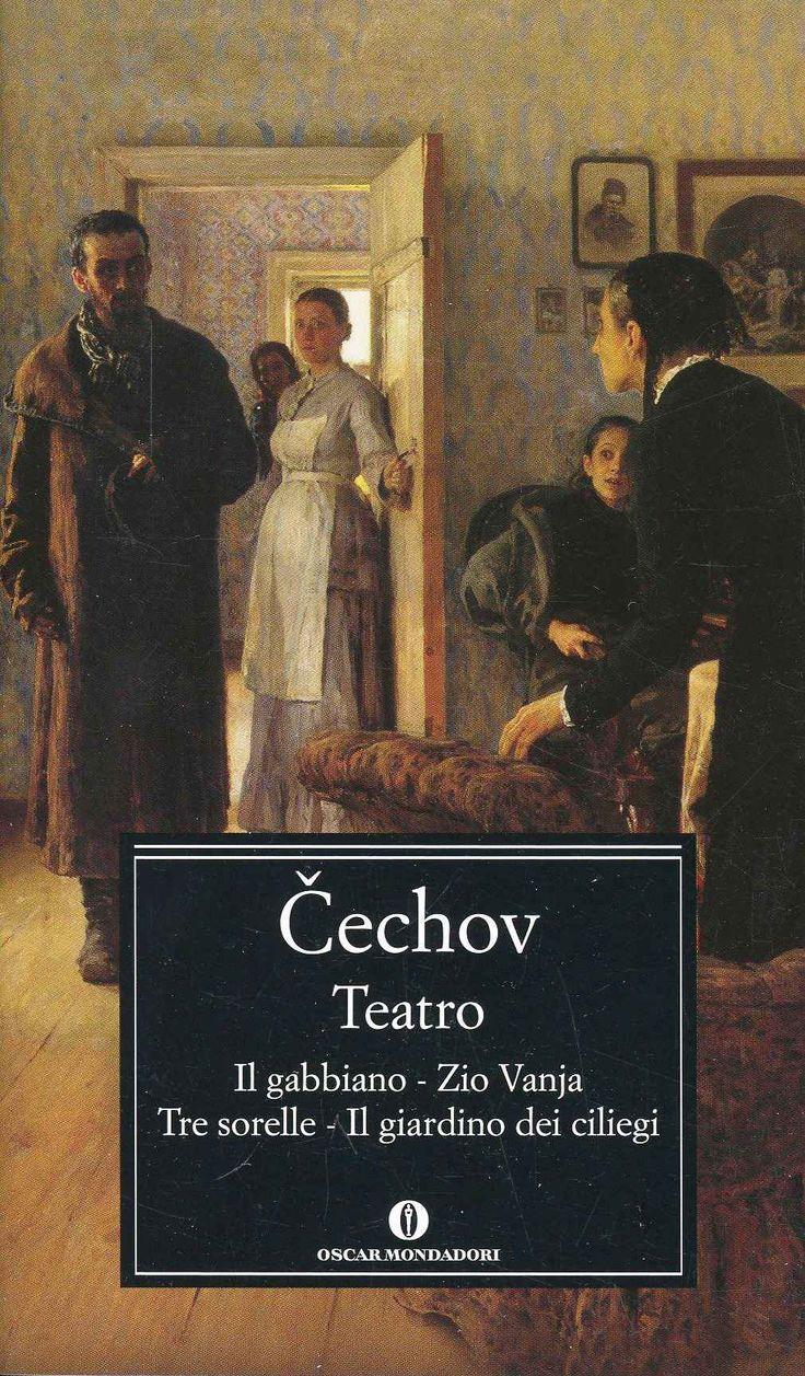 Foto Cover di Teatro. Il gabbiano-Il giardino dei ciliegi-Zio Vania-Tre sorelle, Libro di Anton Cechov, edito da Mondadori