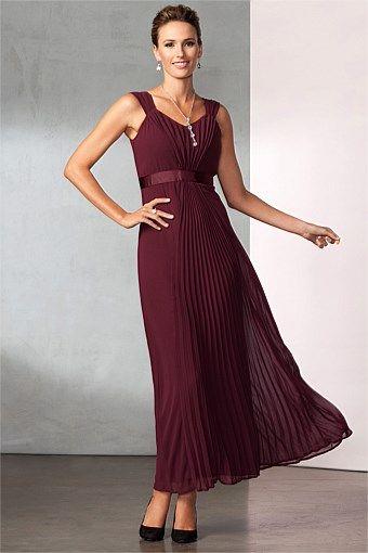 Dresses - GRACE HILL PLEATED MAXI DRESS - EziBuy New Zealand $159