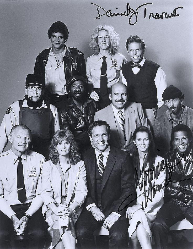 HILL STREET BLUES - pictured - (l to r) (first row) Ed Marnario, Betty Thomas, Joe Spano (second row) James B. Sikking, Taurean Blaque, Rene Enriquez, Bruce Weitz (front row) Michael Conrad, Barbara Bosson, Daniel J. Travanti, Veronica Hamel and Michael Warren.