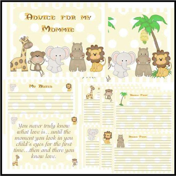 jungle themes baby shower advice activity books jungle themes jungle