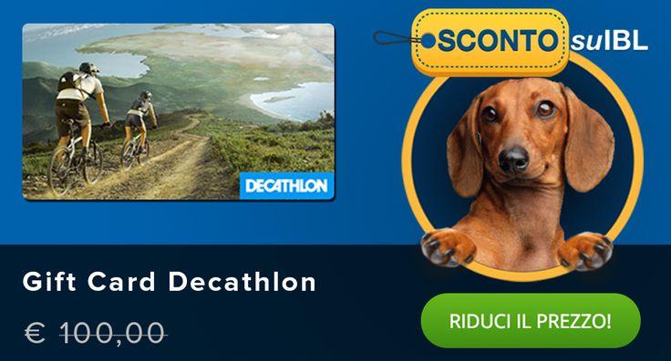Il prezzo? Lo scegli tu! #giftcard #decathlon #madai
