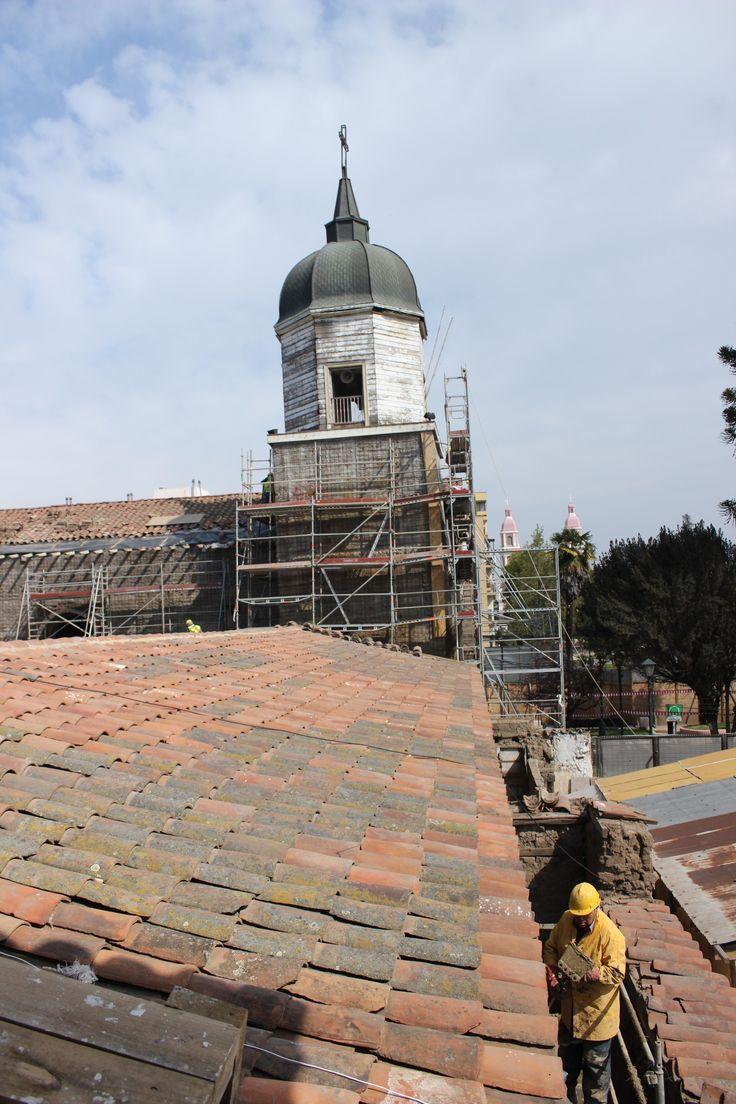 Iglesia La merced. Rancagua. Septiembre 2015. Chile.