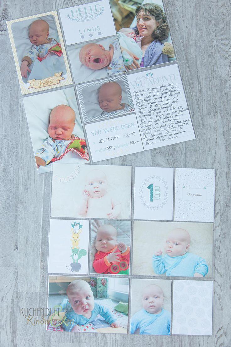 BlogHop zum Jahreskatalog 2015-2016 {Babyalbum mit Project Life} | Kuchenduft & Kinderlachen
