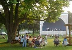 Music in the Park every Thursday evening all summer long - this year there will be an extended season - concerts commence on June 18th with the final concert September 3rd.