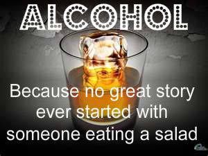 True story.... I should of stuck with the salad! LOL