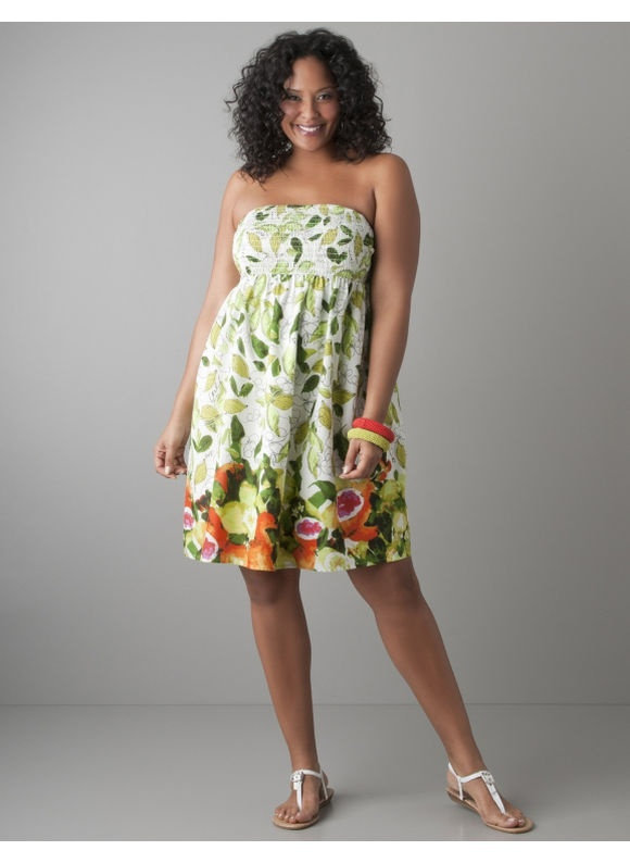 Plus size summer dresses outfits