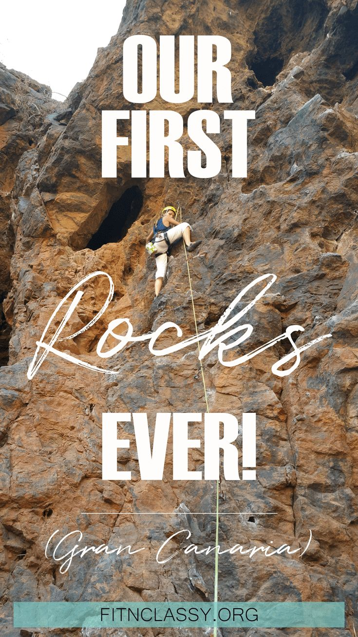 Our First Rocks Ever (Gran Canaria family holidays) - Family holidays on the beach and rock climbing? Why not? Pack one luggage of climbing gear, rent a car and off you go! We did just that with our 6-year old daughter. It was crazy but such an amazing experience. Our best holidays ever! #climbing #rockclimbing #grancanaria #travel #fitness