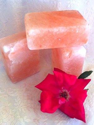 Set of (4) Himalayan Salt Soaps Natural Deodorant and Beauty Bar