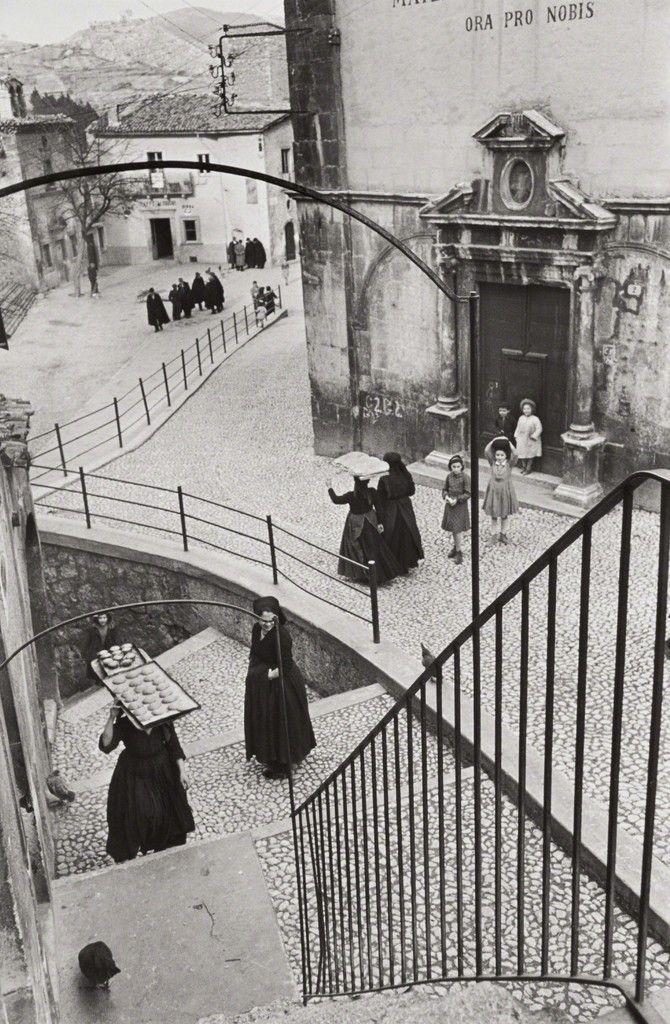 Henri Cartier-Bresson, Scanno, L'Aquila, Abruzzo, Italy, 1951, Phillips