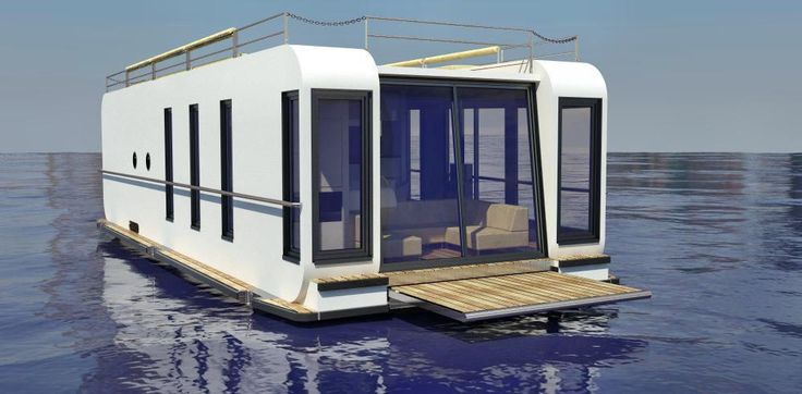 38 best boat images on pinterest floating house. Black Bedroom Furniture Sets. Home Design Ideas