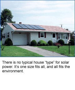 Small and large benefit from #solar.
