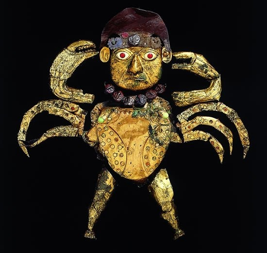 Una joya, perteneciente al Señor de Sipan - Cultura Moche -Jhabich