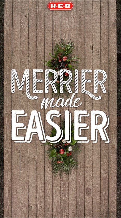 226 best H-E-B holiday meals images on Pinterest   Holiday meals ...