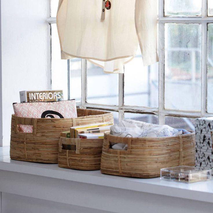 House Doctor Opbergmanden Chaka - set van 3 - Sweet Living Shop