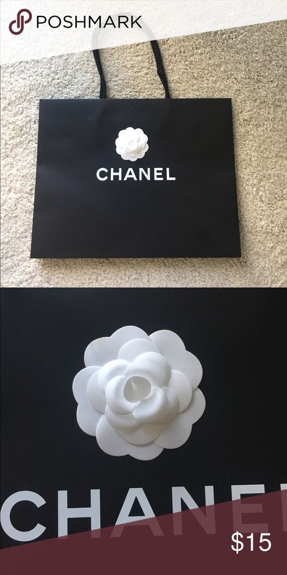 Chanel shopping bag In perfect new condition. Used once. Authentic. No trades. CHANEL Bags