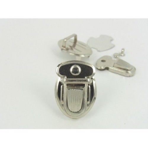 1 inch x 1 1 2 inch Thumb Catch Locks Tongue Clasp Nickel 6 Pcs | eBay