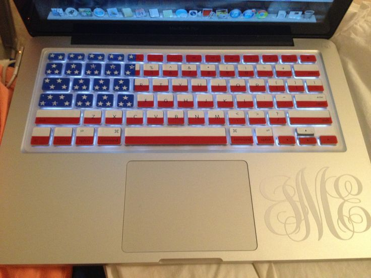 'Merica and monograms. I think i died and went to heaven.
