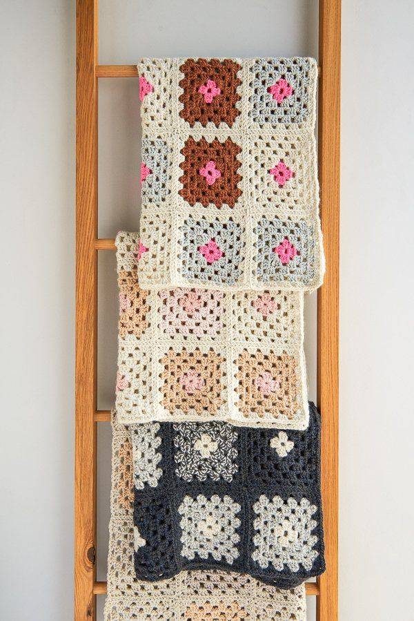 Granny Square Blanket in New Colors | Purl Soho
