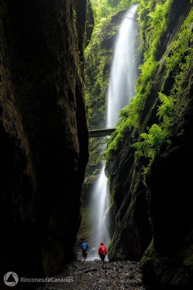 Cascada de Los Tilos. La Palma. Copyright © rinconesdecanarias.com