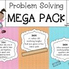 Your one stop shop for problem solving!  In this pack you will find word problems for 2OA1, 2MD5  2MD8.  They are half sheets, which are perfe...