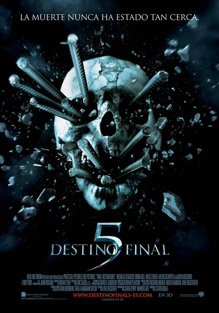 2011. Destino final 5 - Final destination 5