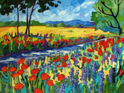 Garden Path II by  Patty Baker