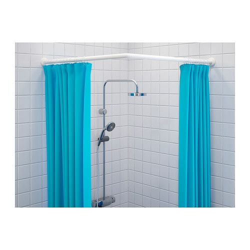 G mmaren tringle rideau douche modulable ikea rideau for Rideau de douche angle