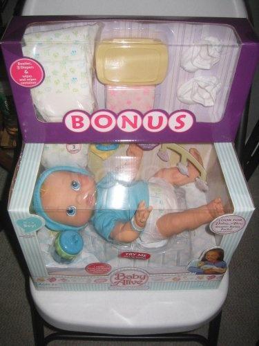 Hasbro Baby Alive Wets N Wiggles Boy Doll Bonus 171 Delay