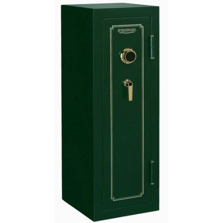 Stack-On Tall Convertible Gun Safe, Green