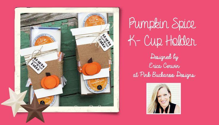 Pumpkin Spice K Cup Holder