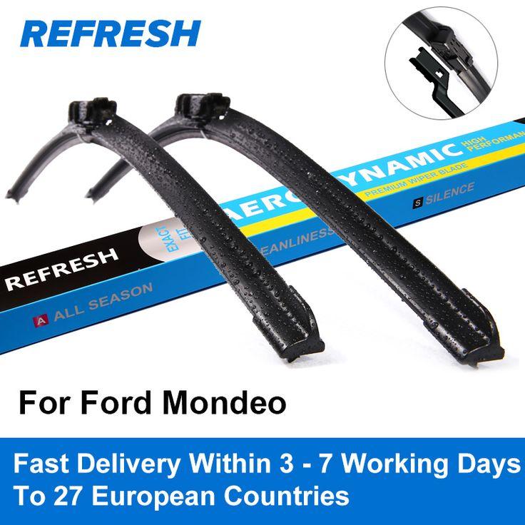 US $12.49 Limpiaparabrisas nuevo para Ford Mondeo Mk4 Mk5 2007 2008 2009 2010 2011 2012 2013 2014 2015 2016 2017 2018 #Limpiaparabrisas #nuevo #para #Ford #Mondeo