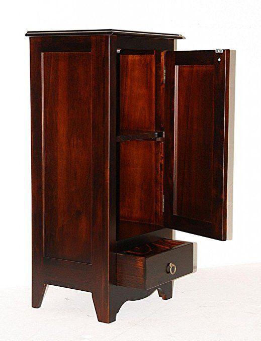 massivholz kommode w scheschrank badschrank schmal massiv. Black Bedroom Furniture Sets. Home Design Ideas